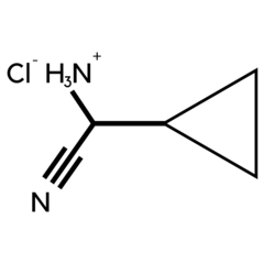 Amino cyclopropane carbonitrile