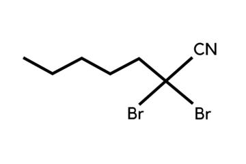 2,2-Dibromoheptanenitrile