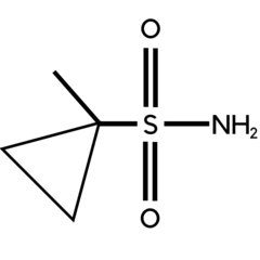 1-Methyl cyclopropyl-1-sulfonamide